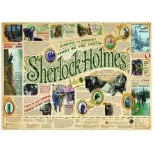 Пазл Cobble Hill, 1000 элементов - Всё о Шерлоке Холмсе