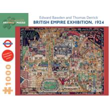 Пазл Pomegranate, 1000 элементов - Э.Боуден,Т.Деррик: Выставка Британской Империи, 1924