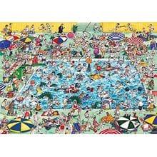 Пазл Heye, 1000 элементов - В бассейне