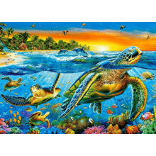 Пазл Castorland, 180 элементов - Морские черепахи