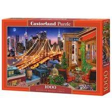 Пазл Castorland, 1000 элементов - Огни Бруклинского моста