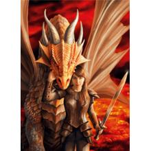 Пазл Clementoni, 1000 элементов - Anne Stokes: Сила дракона
