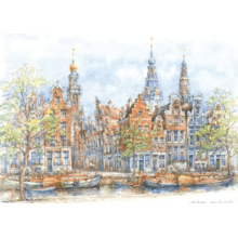 Пазл Adex, 1000 элементов - Амстердам, Alicja Nikiel
