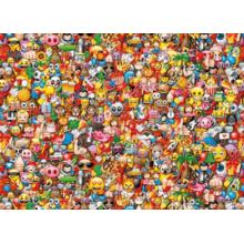 Пазл Clementoni, 1000 элементов - Смайлики