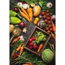 Пазл Schmidt, 1000 элементов - Овощи-здоровая еда