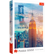 Пазл Trefl, 1000 элементов - Нью-Йорк на рассвете - коллаж