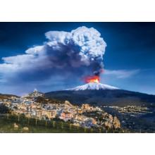 Пазл Clementoni, 1000 элементов - Вулкан Этна