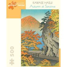 Пазл Pomegranate, 500 элементов - Кавасе Хасуи: осень в Сариве