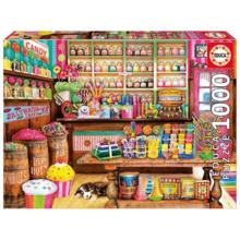 Пазл Educa, 1000 элементов - Магазин сладостей