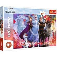 Пазл Trefl, 260 элементов - В посках приключений, Frozen 2