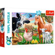 Пазл Trefl, 60 элементов - Веселая ферма