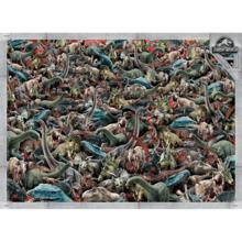 Пазл Clementoni, 1000 элементов - Парк Юрского периода