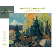 Пазл Pomegranate, 1000 элементов - Франклин Кармайкл: Осенний склон