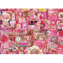 Пазл Cobble Hill, 1000 элементов - Розовый