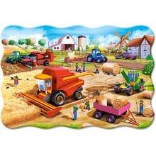 Пазл Castorland, 20 элементов - Работа на ферме