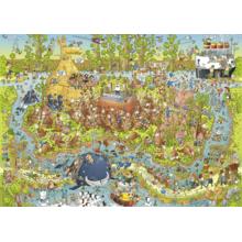 Пазл Heye, 1000 элементов - Австралийский зоопарк