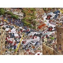 Пазл Heye, 1500 элементов - Гонки в Монако