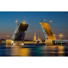 Пазл Educa, 500 элементов - Развод Дворцового моста в Санкт-Петербурге