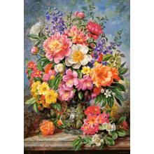 Пазл Castorland, 1000 элементов - Сияние июньских цветов