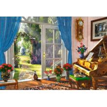 Пазл Castorland, 1000 элементов - Вид на сад