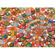Пазл Cobble Hill, 1000 элементов - Пряники-матрешки