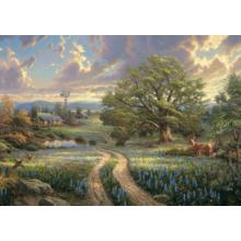 Пазл Schmidt, 1000 элементов - Томас Кинкейд: Загородная жизнь