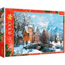 Пазл Trefl, 1000 элементов - Зимний пейзаж