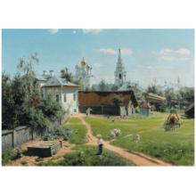 Пазл Stella, 2000 элементов - Поленов В.Д.: Московский дворик