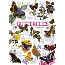 Пазл Cobble Hill, 1000 элементов - Коллекция бабочек