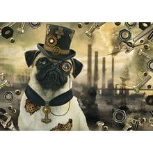 Пазл Schmidt, 1000 элементов - М.Бинц Стимпанк Собака