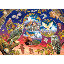 Пазл Cobble Hill, 1000 элементов - Волшебные совы