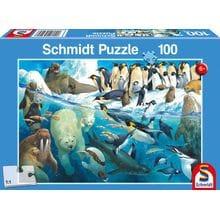 Пазл Schmidt, 100 элементов - Морские животные Заполярья