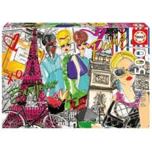 Пазл Educa, 500 элементов - Возьми меня в Париж