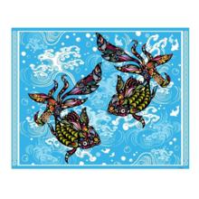 Пазл Pintoo, 500 элементов - Золотые рыбки