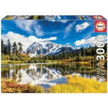 Пазл Educa, 3000 элементов - Гора Шуксан, Вашингтон, США