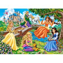 Пазл Castorland, 70 элементов - Принцессы в саду