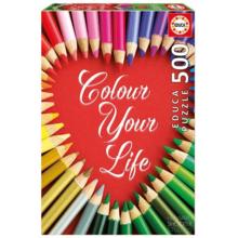 Пазл Educa, 500 элементов - Цвета твоей жизни