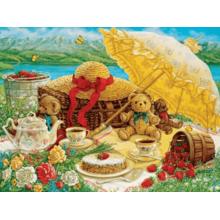 Пазл Cobble Hill, 500 элементов - Пикник с плюшевым мишкой