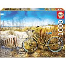 Пазл Educa, 1000 элементов - Велосипед в дюнах