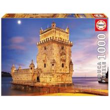 Пазл Educa, 1000 элементов - Башня Белен, Лиссабон