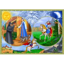 Пазл Castorland, 500 элементов - Сказка о мёртвой царевне