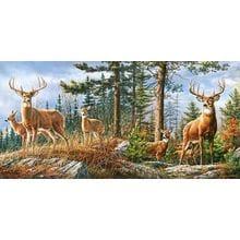 Пазл Castorland, 4000 элементов - Олени в лесу