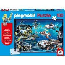 Пазл Schmidt, 100 элементов - Playmobil Суперагенты