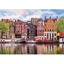 Пазл Educa, 1000 элементов - Танцующие дома, Амстердам