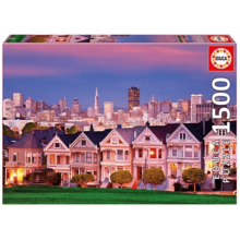 Пазл Educa, 1500 элементов - Викторианские дома, Сан-Франциско