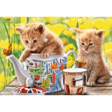 Пазл Castorland, 500 элементов - Время чаепития-котята