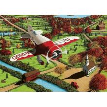 Пазл Cobble Hill, 1000 элементов - Мини-самолет. Пчела