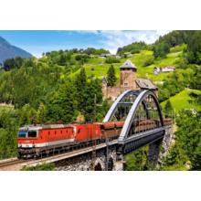 Пазл Castorland, 500 элементов - Поезд на мосту