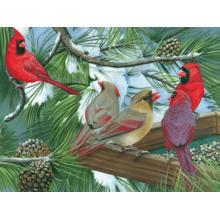 Пазл Cobble Hill, 275 элементов - Кормушка с птицами