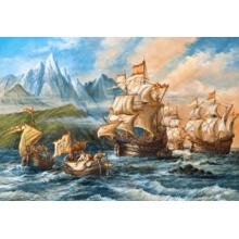 Пазл Castorland, 1500 элементов - Приключения в Новом свете